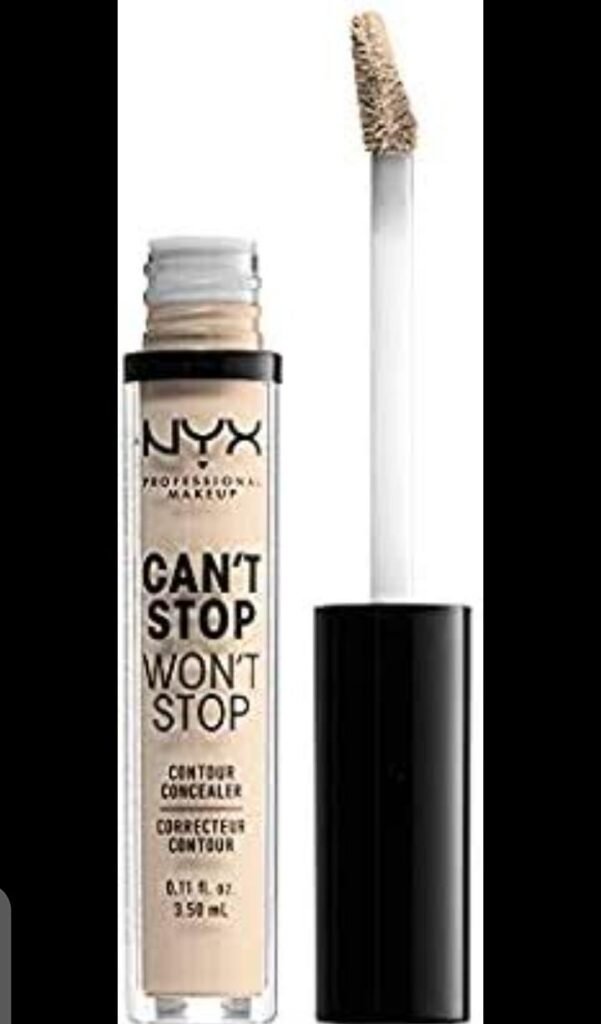 NYX PROFESSIONAL MAKEUP contour Concealer is the best concealer of acne skin
