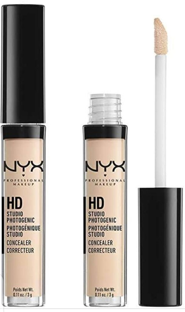 NYX PROFESSIONAL MAKEUP HD Photogenic is the best concealer of acne