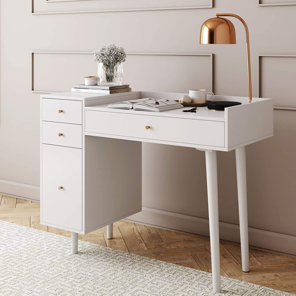Best makeup vanity table with drawers