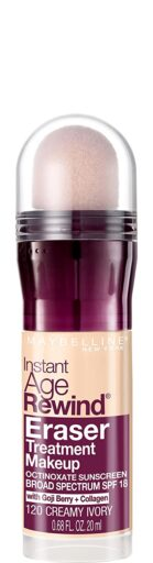 Maybelline Instant Age Rewind Eraser Treatment Makeup Review